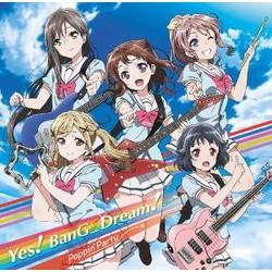 「バンドリ!」 1stSingleCD「Yes!BanG_Dream!」(Blu-ray付生産限定盤)/Poppin'Party