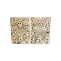 アフロ田中シリーズセット (全44冊)【のりつけ雅春先生描き下ろし収納ボックス付き】 全巻セット