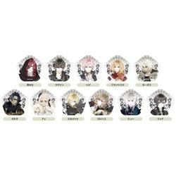 オトメイト 【五角形】缶バッジコレクション 灰鷹のサイケデリカ vol.1(全11種)